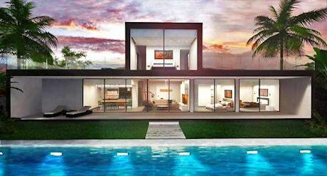 Minimalistiske villaer til salgs costa del sol for Funkis sale